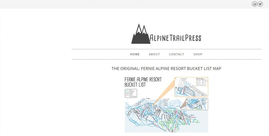 Alpine Trail Press Screen Shot