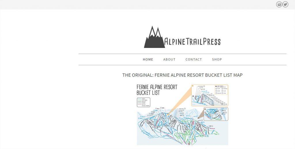 Alpine Trail Press Screen Shot