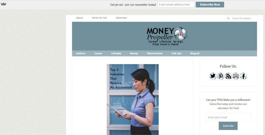 Money Propeller Screen Shot