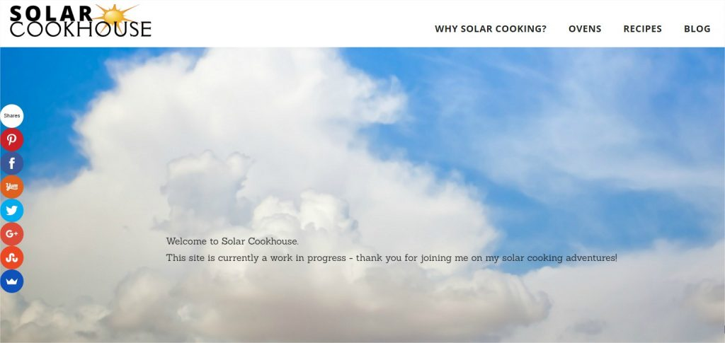 Solar Cookhouse Screen Shot